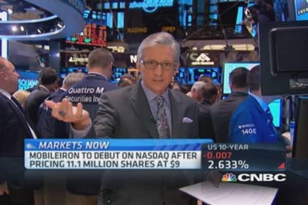Pisani tests GoPro on NYSE floor
