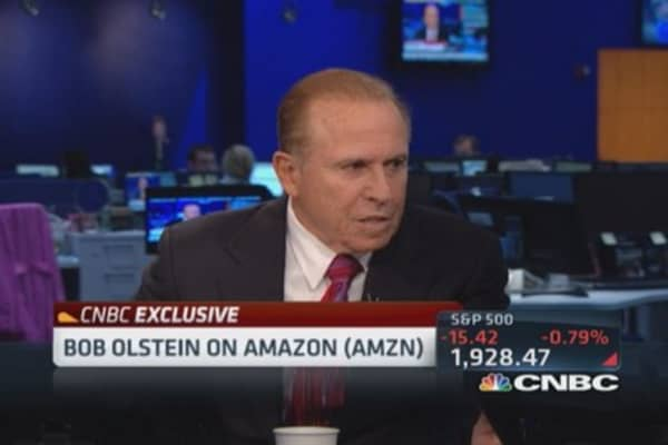 Olstein: Amazon has 'no business plan to make a profit'