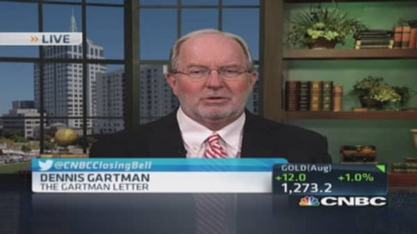 Gartman: Moved to oil's sideline