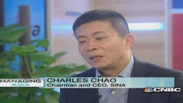 Sina: Focusing on user growth