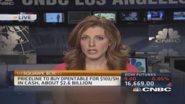 Priceline to buy OpenTable for $2.6 billion