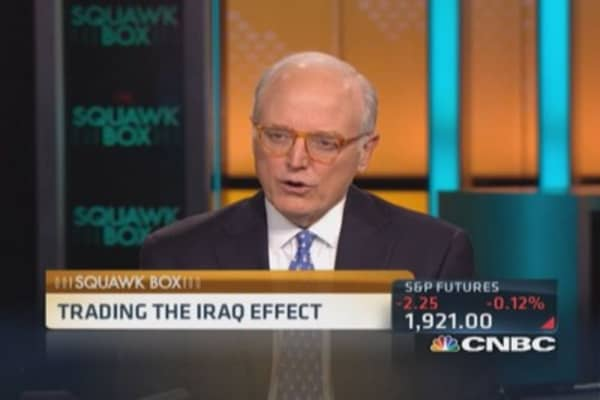 Trading the Iraq effect