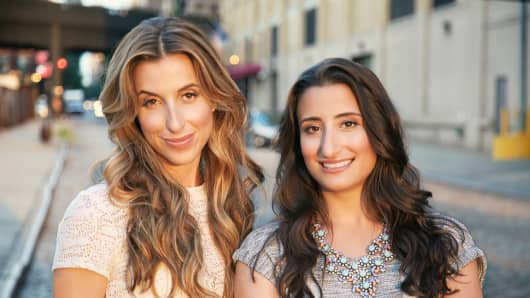 Katia Beauchamp and Hayley Barna, co-founders of Birchbox
