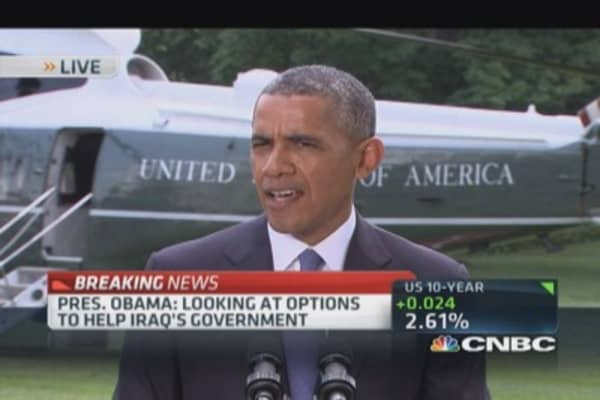 Pres. Obama: Iraq is a long-term problem
