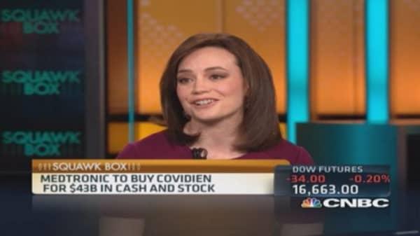 Medtronic to buy Covidien for $43B in cash & stock