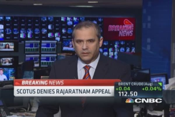 SCOTUS denies Rajaratnam appeal