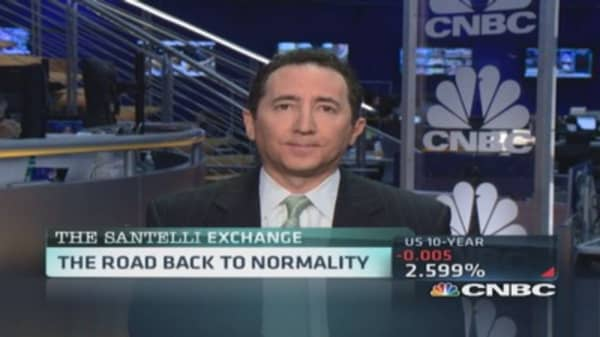 Santelli Exchange: US Treasury debt appetite declines