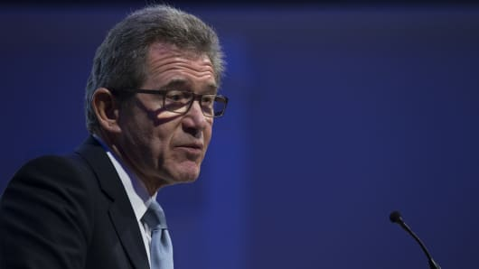 Lord John Browne, former Chief Executive of British Petroleum.