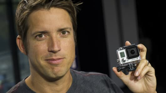 Nicholas 'Nick' Woodman, founder and chief executive officer of GoPro.