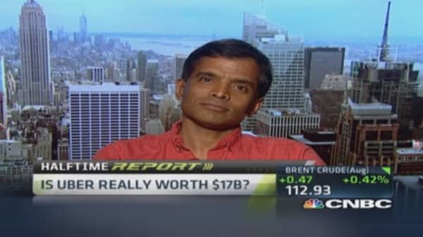 Damodaran: Uber driven by narrative right now