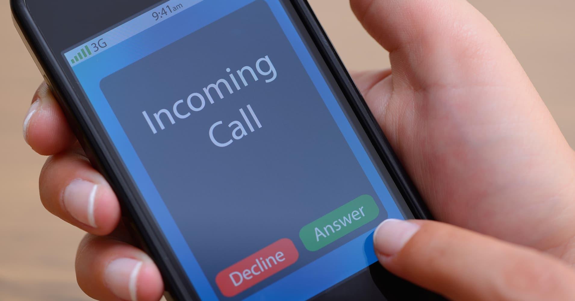 Blocking unwanted calls - cell phone block calls app
