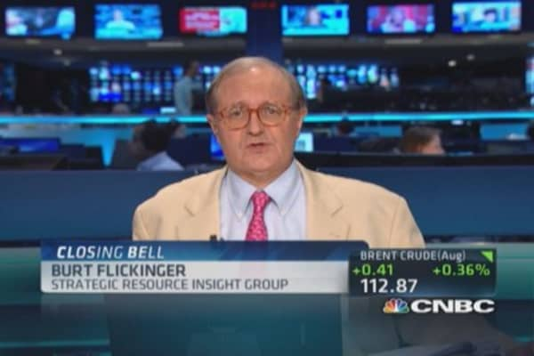 Target should be close to $85: Flickinger