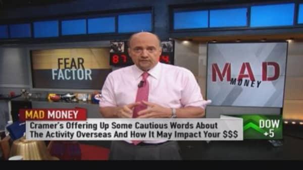 Cramer's fear factor
