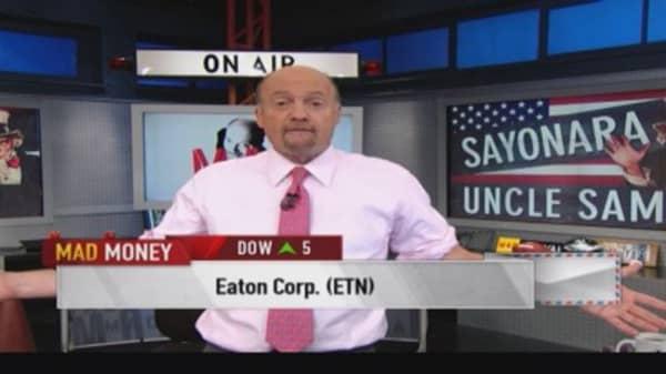 Cramer rides the tax inversion wave