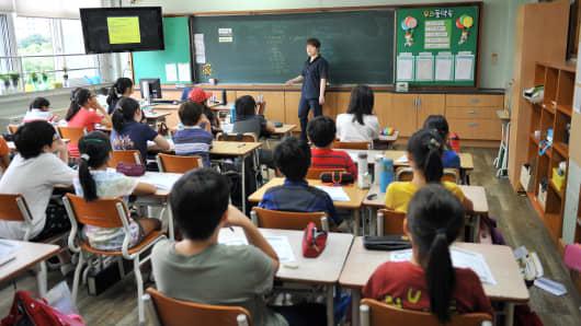 South Korea's millionaire tutors