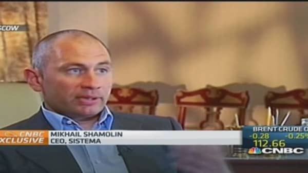 Sistema CEO on need for Russian economic reform