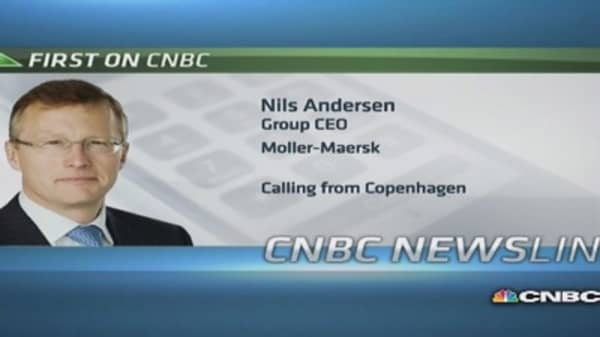 P3 not a 'must have': Moller-Maersk CEO