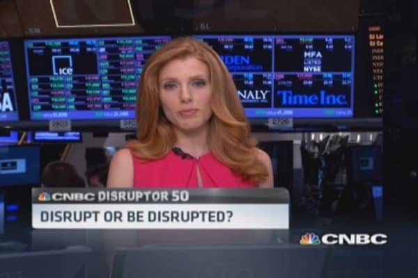 CNBC's Disruptor 50: Data storage