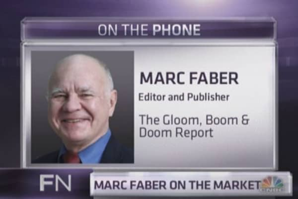 Marc Faber: Blame the media for gold's demise