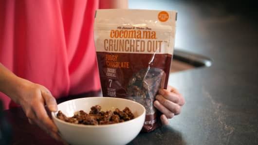 Start-up Cocomama Foods features ancient grains, such as quinoa, and is located in Boston, Massachusetts.