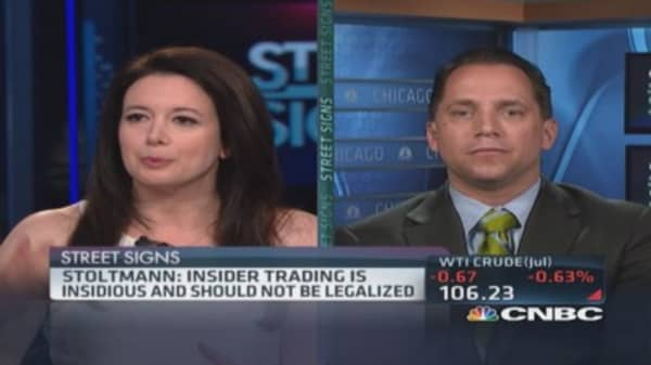 Legalize insider trading?