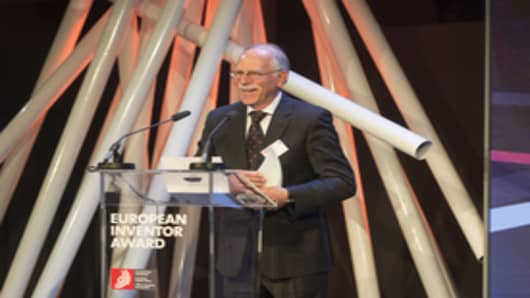 Chuck Hull Receives 2014 European Inventor Award