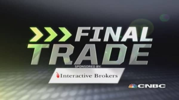 Fast Money Final Trade: P, WYMM, MSFT, NCR