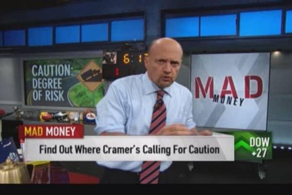 Cramer: Less risk in Google, Apple, Facebook