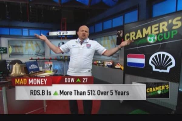 Mad Money World Cup: Royal Dutch Shell