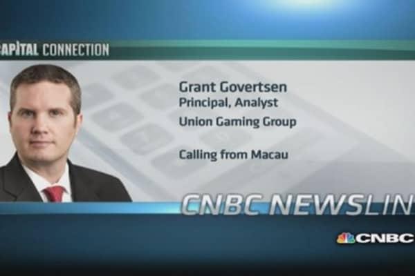 Union Gaming Group downgrades Macau gaming sector