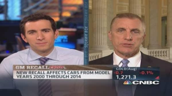 Rep. Murphy: GM's corporate culture at crux of recall