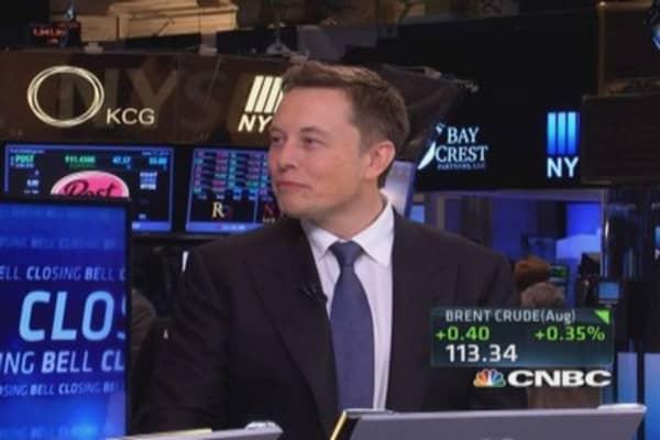 CNBC's number 1 disruptor, Elon Musk