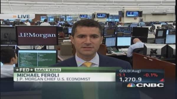 Fed forecast being realized: Economist