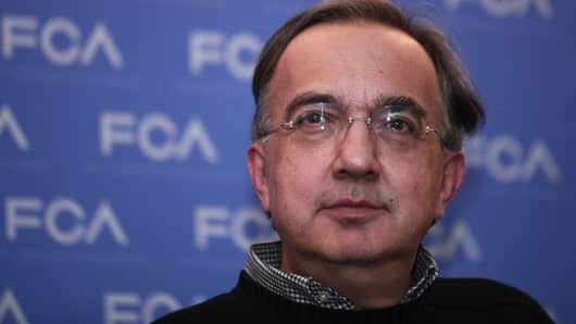 Chrysler Group chief executive Sergio Marchionne