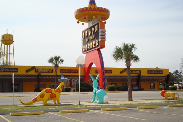 South of the Border roadside attraction.