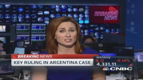 Key ruling in Argentina case