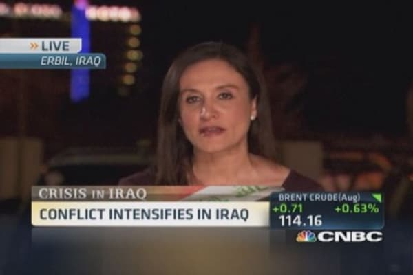 Conflict intensifies in Iraq