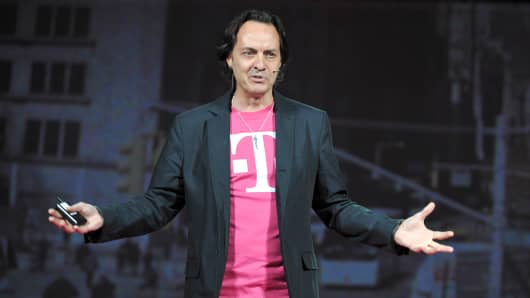 John Legere, CEO T-Mobile US