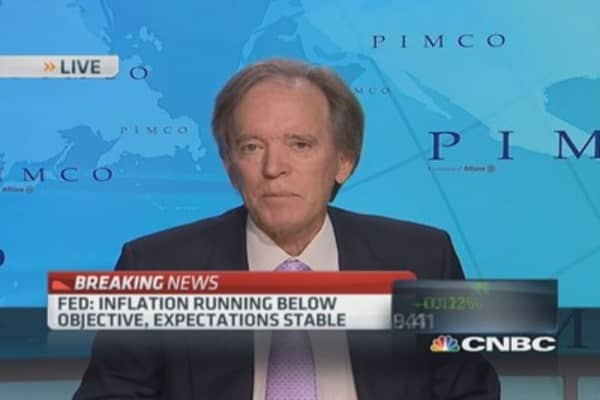Bill Gross says Fed concerned with 'financial conditions'