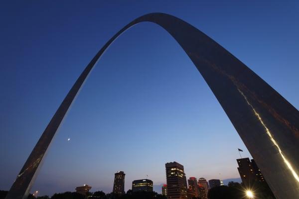 St. Louis, Gateway arch.