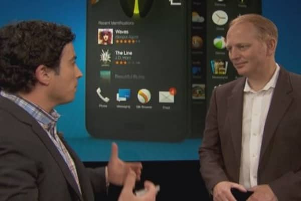 Amazon fuels Fire phone