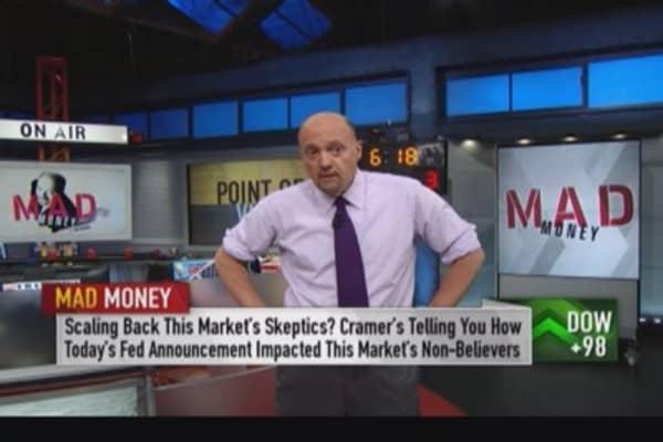 Fed skepticism cost more than optimism: Cramer