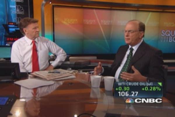Larry Fink's long-term market view