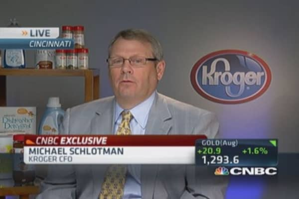 Kroger CFO: Difficult to raise produce prices quickly