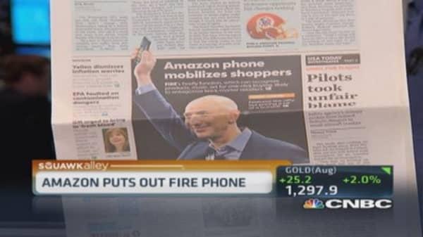 Amazon 'Fire Phone' gateway to bigger things?
