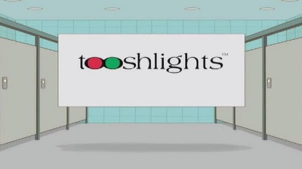 Tooshlights help you know where to go