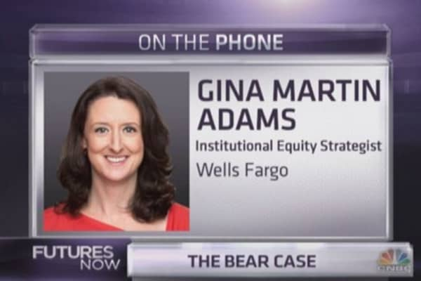 Wells Fargo's bear turns less bearish