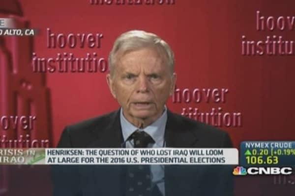 Iraq won't be another Vietnam war: Expert