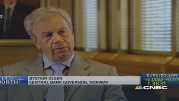 Norway's central bank could lower rates: Governor