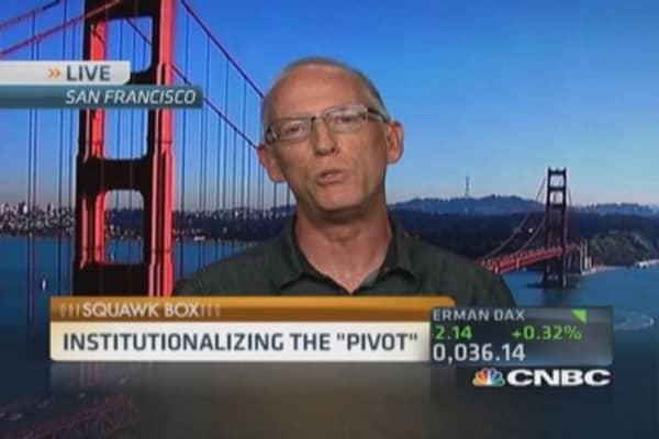 Institutionalizing the 'pivot'